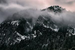 Misty Moody Yosemite Valley, Yosemite National Park, California by Vincent James