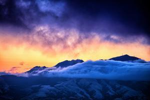 Moody Light Storm, Mount Diablo, Easy Bay, Oakland California by Vincent James