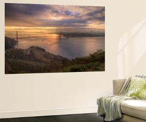 Moody Morning at Golden Gate Bridge, San Francisco by Vincent James