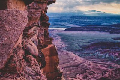 Moody Morning Skies at Dead Horse Point, Moab, Utah Southwest by Vincent James