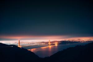 Moody Pre-dawn Golden Gate Bridge, San Francisco, California by Vincent James