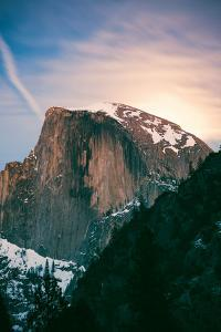 Moon Light Mood, Half Dome, Yosemite National Park, Hiking Outdoors by Vincent James