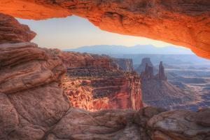 Morning at Mesa Arch, Canyonlands, Southern Utah by Vincent James