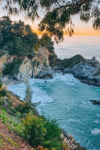 Morning Cove and Waterfall, McWay Falls, Big Sur California Coast by Vincent James