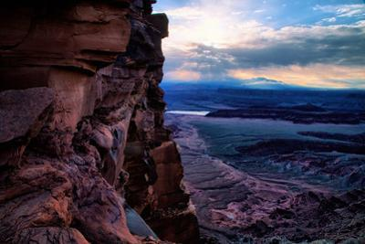 Morning Light Storm at Dead Horse Point Southern Utah Canyonlands Moab by Vincent James