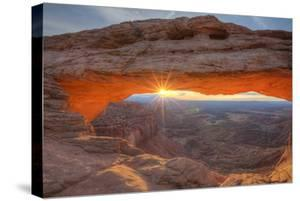 Morning Sun at Mesa Arch, Canyonlands, Southern Utah by Vincent James