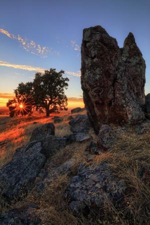 Mount Diablo Rocks at Sunset Walnut Creek Danville State Park by Vincent James
