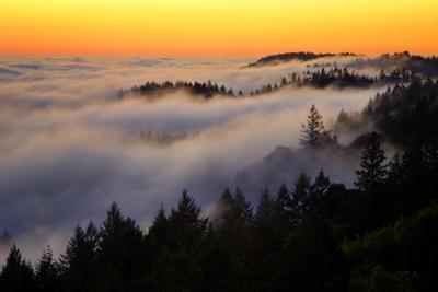 Mount Tamalpais After Sunset, Northern California by Vincent James