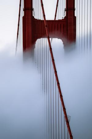 Moving Fog at Golden Gate Bridge, San Francisco California Travel by Vincent James