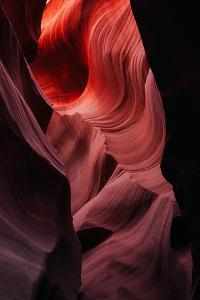 Natural Abstract, Antelope Canyon, Navajo Reservation, Arizona by Vincent James