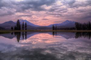 New Day at Spark's Lake, Bend Oregon by Vincent James