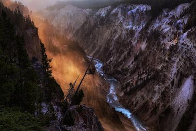 New Day Grand Canyon Sunrise Light Wyoming Yellowstone by Vincent James