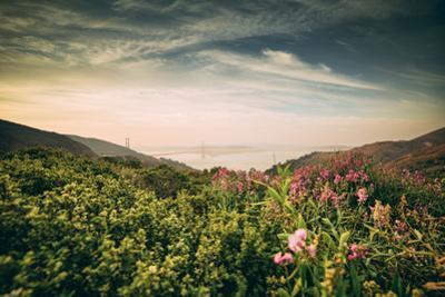 Obscurity - Smokey Sunrise at Golden Gate Bridge, San Francisco by Vincent James