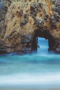 Ocean Door in Morning, Big Sur California by Vincent James
