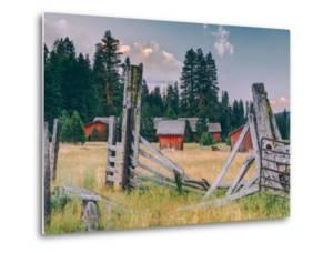 Old Ranch, Mount Shasta, California by Vincent James