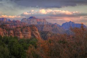 Outside Zion (Landscape) Southern Utah by Vincent James