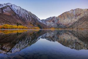 Peaceful Morning Reflections at Convict Lake, Eastern Sierras, California by Vincent James