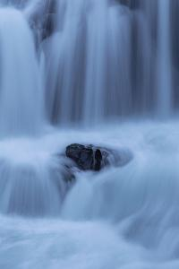 Peaceful Waterfall Flow, Outside Skógafoss, Waterfall Iceland by Vincent James