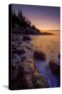 Pre Dawn Seascape, Atlantic Coast, Maine, Acadia National Park by Vincent James