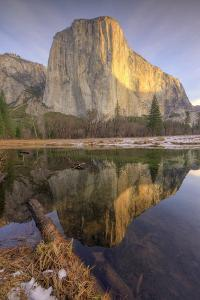 Reflections at El Capitan, Yosemite by Vincent James