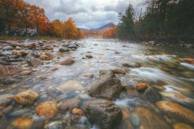Return to Pemigewasset in Autumn, New Hampshire by Vincent James