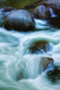 River Paint, Merced River Canyon by Vincent James