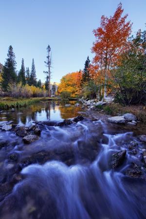 Sabrina Lake in Autumn Bishop Creek Canyon Eastern Sierras California by Vincent James