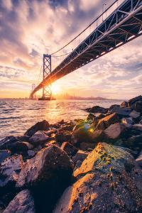 San Francisco Bay, Bridge and Cityscape by Vincent James