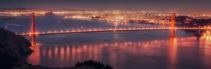 San Francisco Cityscape from the Marin Headlands by Vincent James