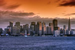 San Francisco Cityscape by Vincent James