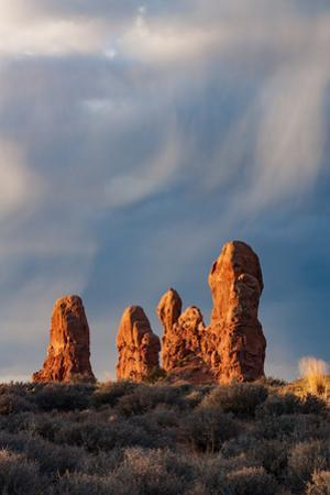Sandstone Formations, Arches National Park by Vincent James