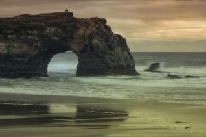 Scene at Natural Bridges, Santa Cruz by Vincent James