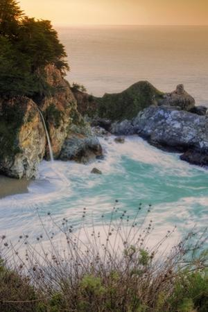 Scene at Waterfall Beach II by Vincent James