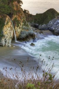 Scene at Waterfall Beach by Vincent James