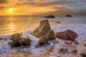 Sea and Sunscape at San Francisco by Vincent James