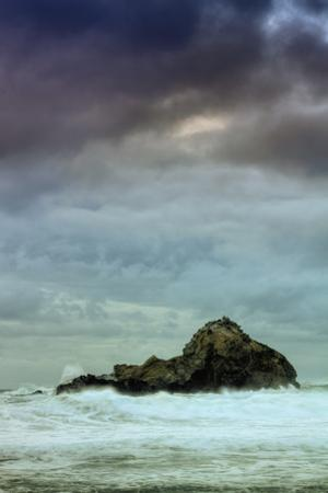 Seascape Mood at Big Sur by Vincent James