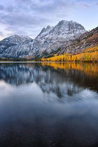 Silver Lake in Reflection in Autumn, Eastern Sierras, California by Vincent James