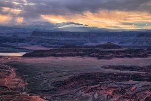 Sky Alchemy, Stormy Dead Horse Point, Moab Utah, Southwest US by Vincent James