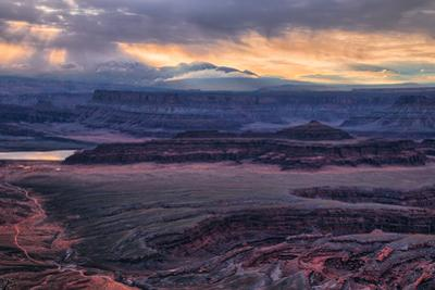 Sky Alchemy, Stormy Dead Horse Point, Moab Utah, Southwest US by Vincent James