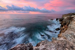 Sky Fire Seascape, Kauai, Poipu, Hawaii Islands by Vincent James