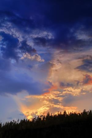 Sky Magic Abstract Wyoming by Vincent James