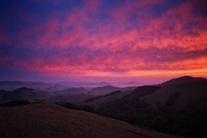 Sky On Fire at Petaluma, Sonoma County by Vincent James