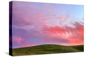Sky Paint Abstract Hills Petaluma Northern California by Vincent James