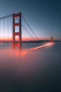 Spencer Battery Fog Golden Gate Bridge, San Francisco California Travel by Vincent James