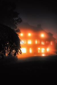 Spooky Halloween at Pittock Mansion, Portland, Oregon by Vincent James