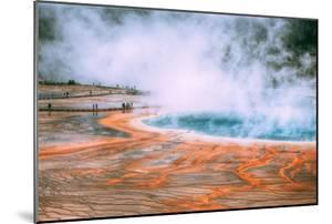 Spring Eternal, Grand Prismatic Spring, Yellowstone National Park by Vincent James