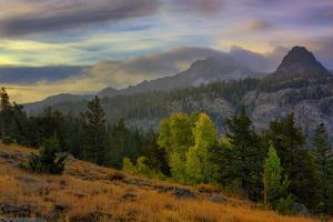 Stormy Autumn at Carson's Pass, Lake Tahoe, California by Vincent James