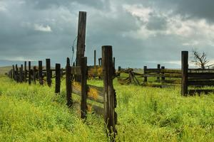 Stormy Ranch by Vincent James