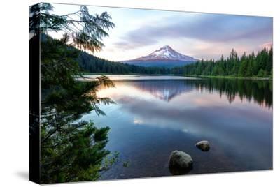 Summer Sunset at Trillium Lake, Oregon