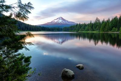 Summer Sunset at Trillium Lake, Oregon by Vincent James